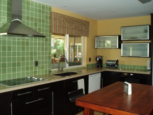 Kitchen Remodel by S Interior Design - Very colorful!