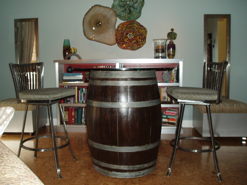 Wine Barrel Furniture Ideas Plans Free Download