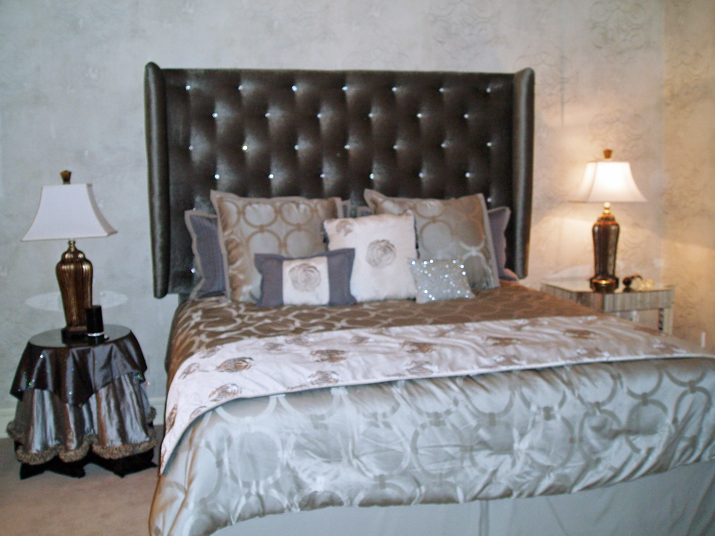 Hollywood Glamour Inspired Guest Bedroom- Final Installation | S ...
