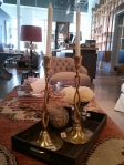 candlesticks, brass, brass candlesticks, brass finishes in decor