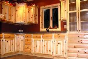 pine kitchen 1