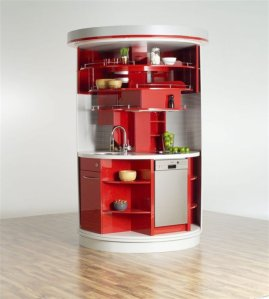 Circular Kitchen - thehouseplanner.co.uk
