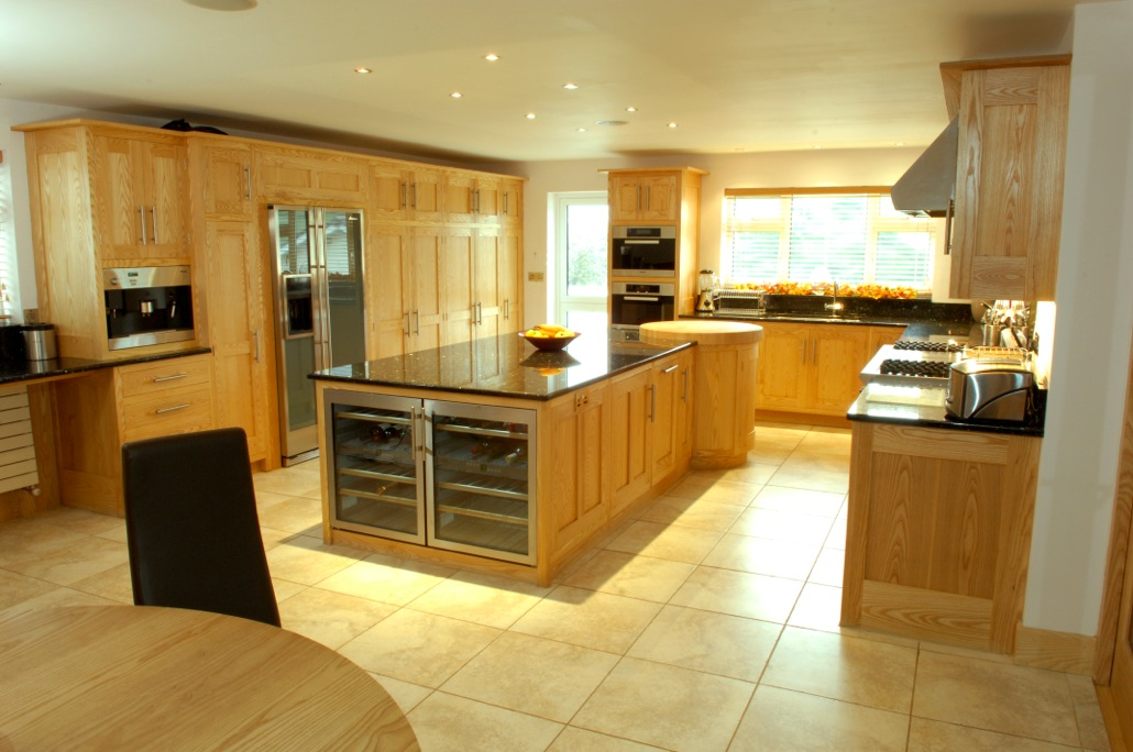 The kitchen is the central hub of the home where we spend many hours