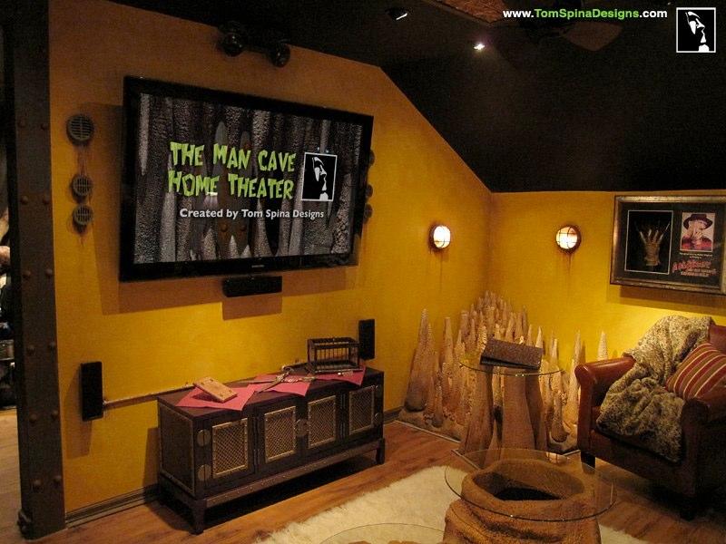 Man Cave Tv : Elements of a perfect man cave interior design