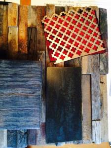 Patina Yard Table Materials Chosen
